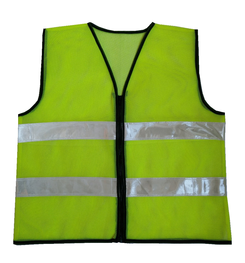 Safety Vest Reflective vest Traffic Fluorescent Hi-vis PVC Tape/ Mesh Vest jiade two tone hi vis safety vest reflective