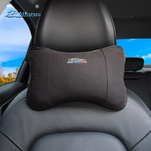 AIRSPEED – oreiller de voiture en cuir, appui-tête universel, accessoires pour BMW // M E46 E90 E92 E60 E39 E36 F30 F10 F20 G30 E87