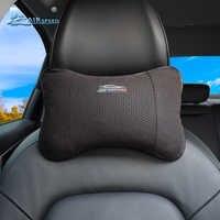 Airspeed Leather Car Pillow Neck Pillow Headrest Car Accessories Universal for BMW E46 E90 E92 E60 E39 E36 F30 F10 F20 G30 E87