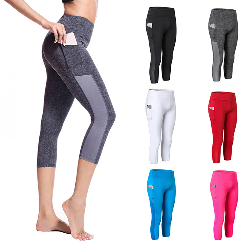 Pants Leggings Tights Compression-Sweatpants Training Sport Womens Workout Fitness High-Waist title=