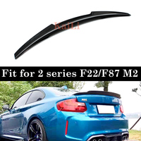 M4 Spoiler For BMW 2 Series F22 Coupe & F87 M2 Carbon Fiber Wings 2014 UP 218i 220i 228i M235i