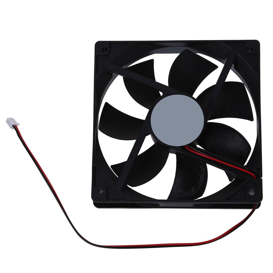 120mm x 25mm 12V 2Pin Sleeve Bearing Cooling Fan for Computer Case sunon ac 220v aluminum cooling fan 120 x 120 x 25mm computer
