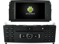 Android 7 1 CAR DVD Player FOR BENZ C CLASS W204 2007 2011 Car Audio Gps