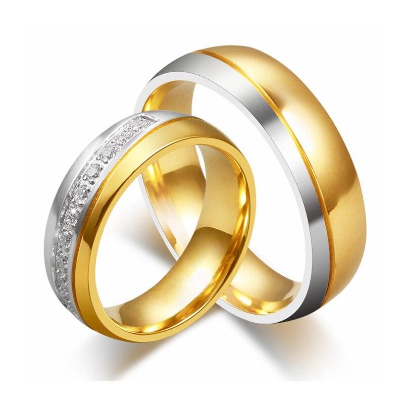 Wedding Rings Titanium Pair