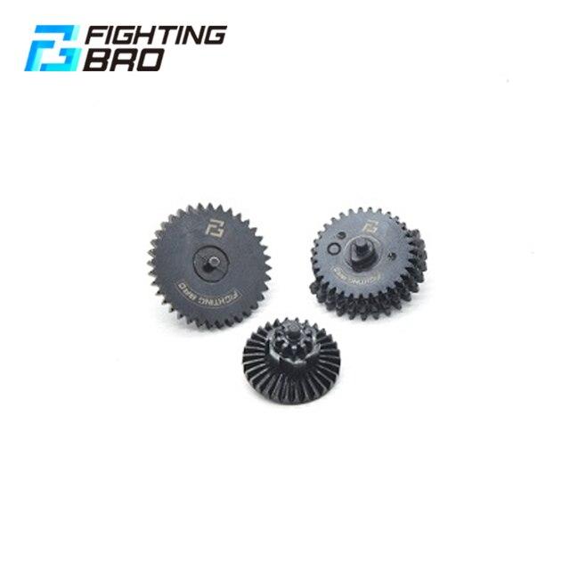 FightingBro 1: 1 13:1 100:200 100:300 Set di ingranaggi ad alta coppia per Ver.2/3 M4 Airsoft AEG cambio accessori da caccia Paintball
