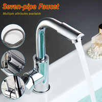 Bathroom Faucets Mixer 360 Degree Swivel Easy Wash for Basin Sink and Kitchen Faucet with 60cm hoses