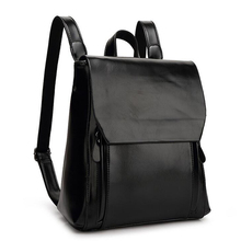 Women Backpack High Quality PU Leather Mochila Escolar School Bags For Teenagers Girls Casual Shoulder Bags Rucksack