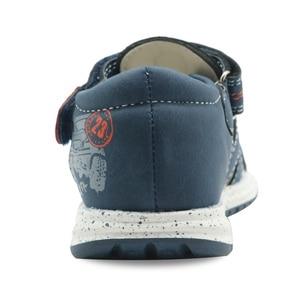 Image 4 - Apakowa/летние сандалии на плоской подошве для маленьких мальчиков; Модные сандалии гладиаторы на застежке липучке с поддержкой арки; Детская обувь