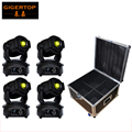TP-L606B 4IN1 Flightcase Pack New 90W Led Moving Head Light Huiliang Power 14 Channels LCD Display Switch off Automatically