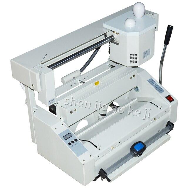 RD-JB-4 Desktop Hot melt glue binding machine glue books binding machine glue book binder machine 110V/220V