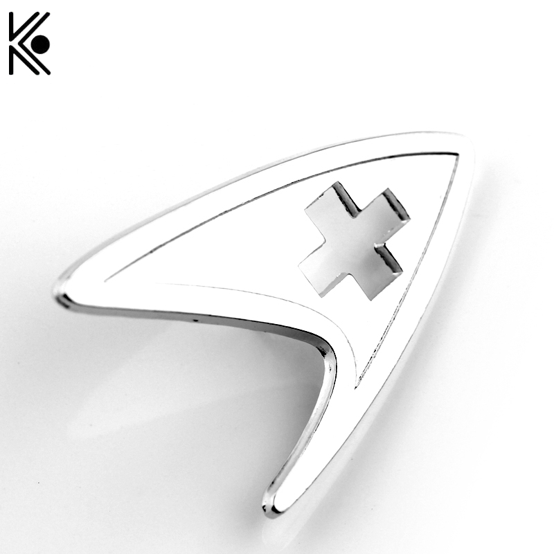 Jewelry & Accessories Hospitable High Quality A Letter Logo Star Trek Brooches Silver Plated Fashion Jewelry Nice Gift For Friend Lapel Badge Pin Men Jewelry Brooches