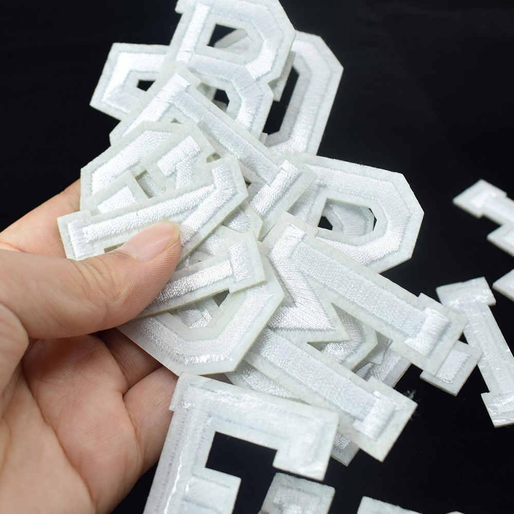 Engels Letters Kleding Geborduurde Applicaties Iron op Patches Badge Sticker voor DIY Kleding Kleding Naaien Ambachtelijke Accessoires
