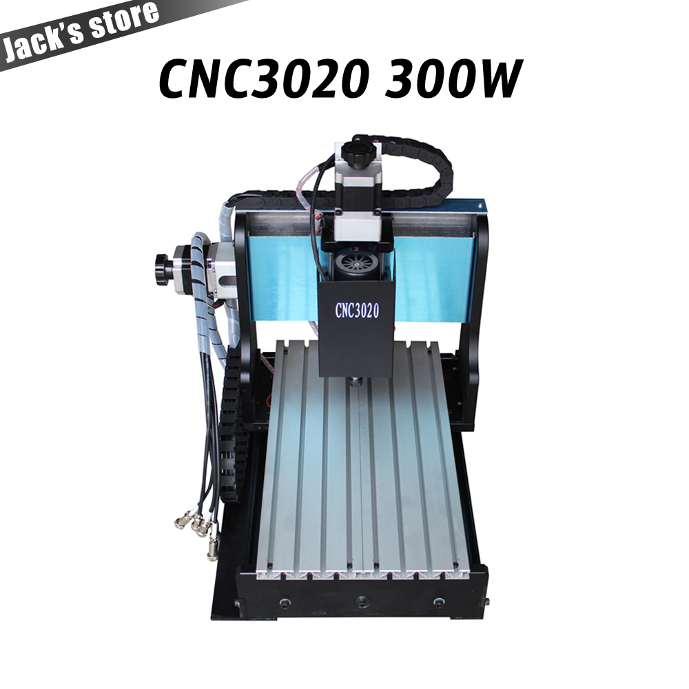 3020Z-DQ+, CNC3020 300W cnc router PCB engraving driling and milling machine CNC 3020 cnc machine