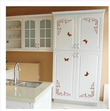 Continental Corner Flower Furniture Wardrobe Cupboard Door