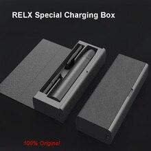 Originale Sigaretta Elettronica Box Caricabatterie per Relx Usb Battery Charger Cassa Del Supporto Baccelli Indicatore di Carica Led Accumulatori E Caricabatterie di Riserva per Relx