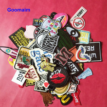 5pcs iron on ladies patches for womens clothing embroidery applications badges cloth sew
