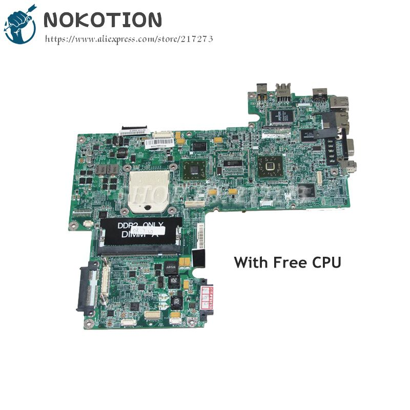 NOKOTION Laptop Motherboard For Dell Inspiron 1521 MAIN BOARD CN-0WP042 0WP042 DA0FX5MB8D0 15.4 Inch DDR2 Free CPU