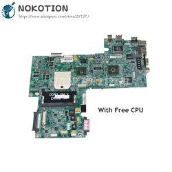 NOKOTION Laptop płyta główna płyta główna do Dell Inspiron 1521 płyta główna CN 0WP042 0WP042 DA0FX5MB8D0 15.4 Cal DDR2 darmowe CPU w Płyty główne od Komputer i biuro na