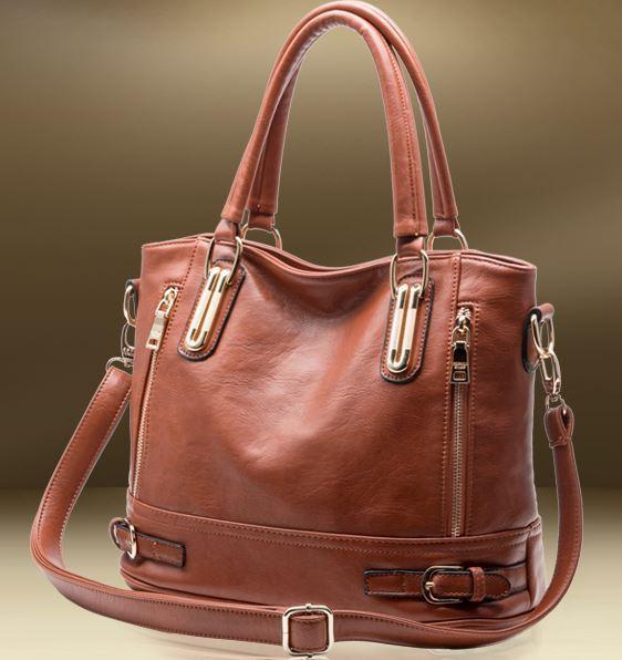 Hot Sale New 2015 Fashion Brand COMPOSITE GENUINE LEATHER Handbag Women Vintage Tote Cow Shoulder Messenger Bag DJ14