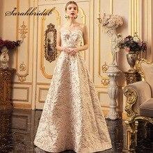新チャーミングファッションガールイブニングドレスで取り外し可能なスパゲッティストラップ帝国ビーズサッシウエディングパーティードレス L5212