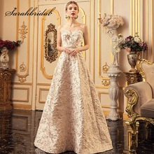 Nouveau charmant mode fille robes de soirée en sangle Spaghetti détachable Empire perles ceintures robes de soirée de bal L5212