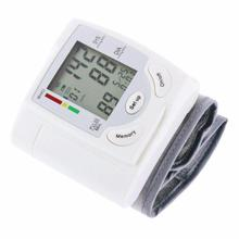 Automatic Medical Home Health Care Arm Meter Pulse Wrist Blood Pressure Monitor Sphygmomanometer Heart Beat Meter Machine недорого