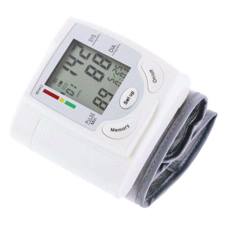 Automatyczna medyczna domowa opieka zdrowotna Arm Meter Pulse ciśnieniomierz nadgarstkowy Sphygmomanometer maszyna mierząca rytm serca