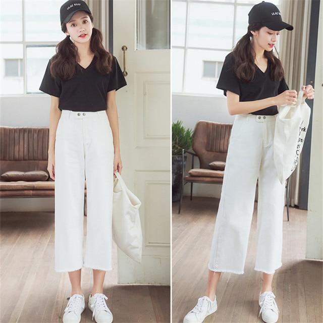 elástica Pantalones Mujer lápiz Camisa Denim mujer cintura Jeans Skinny alta Womens más pantalones Jeans tamaño tFOx6q