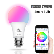 2018 Magic Blue 4.5W E27 RGBW led light WIFI bulb smart lighting Bluetooth lamp color change dimmable AC85-265V for home hotel