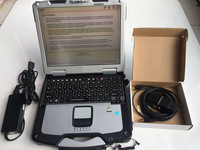 DA Dongle j2534 diagnostics elite programmer bd2 device software v145 hdd installed laptop toughbook cf 30 touch screen 4g