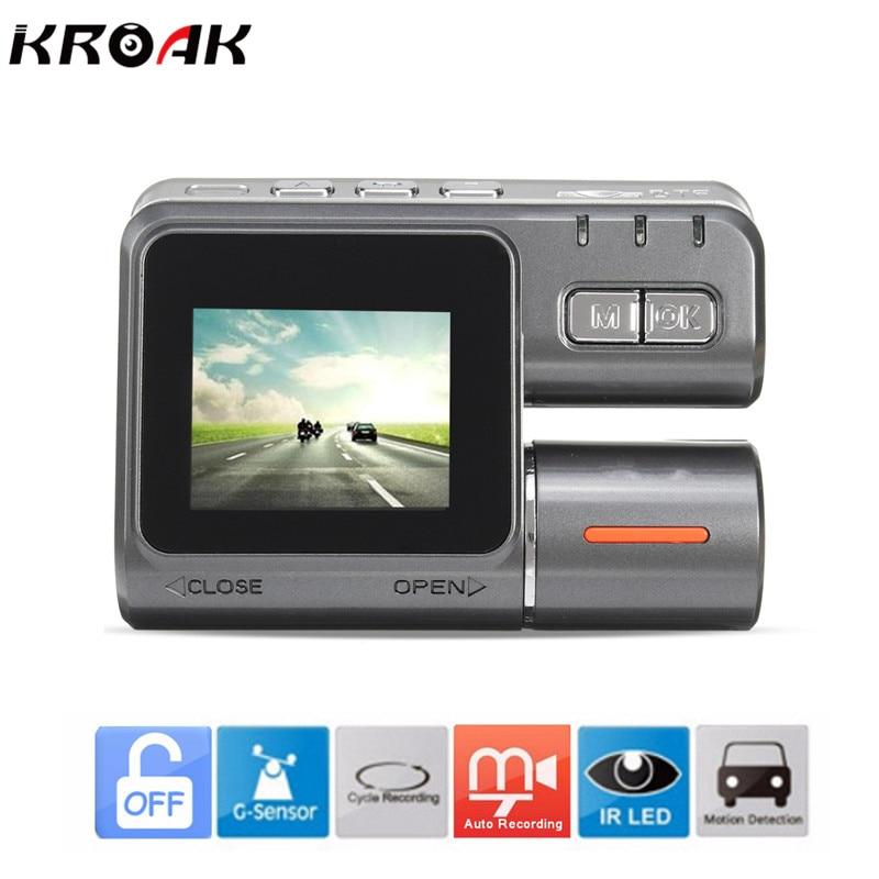 1 8 FHD 1080P 90 Degree Car DVR Recorder Dash Camera IR Night Vision Video GPS