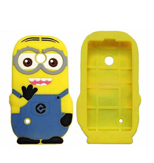 size 40 133e3 aa7fe US $4.85 |For Nokia Lumia 530 Case Despicable Me 2 Minions Soft Rubber  Silicone Cell Phone Cover For Nokia 530 N530 Silicon Back Cases on ...