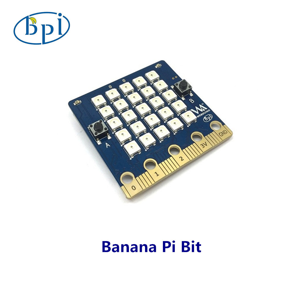 Banana PI Bit board with EPS32 for STEAM education ...
