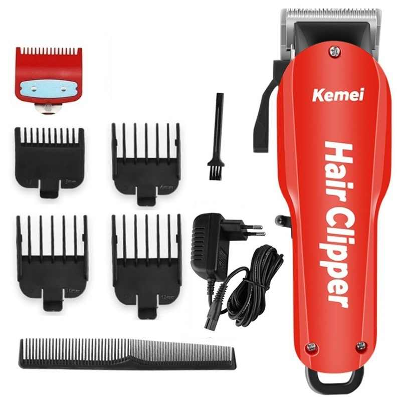 Einstellbar cordless haar clipper professional hair trimmer männer bart elektrische cutter haar schneiden maschine haar cut barber shop