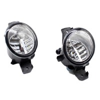 2pcs Car Styling Round Front Bumper LED Fog Lights DRL Daytime Running Driving fog lamps For OPEL MOVANO B Bus 2010 2015