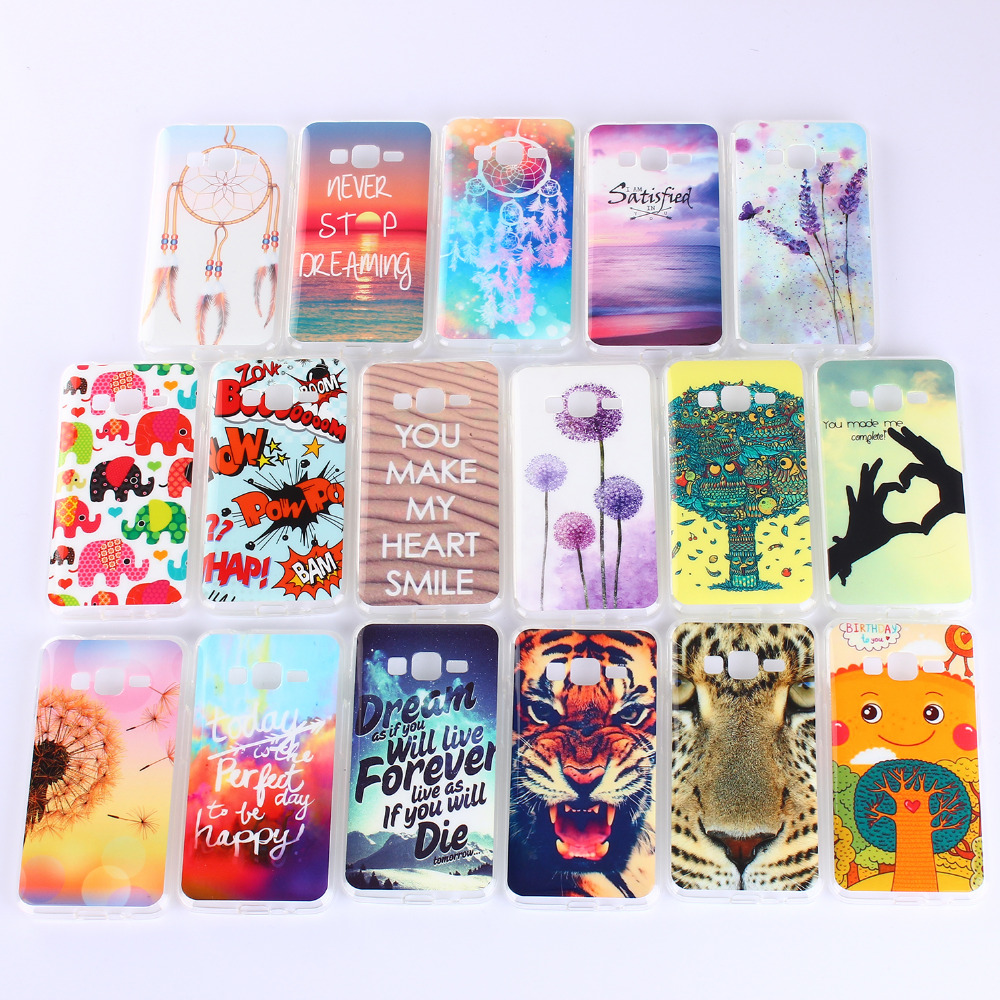 For Samsung Galaxy J7 Case Cartoon Colourful Animal Pattern Soft Silicone TPU Back Cover Case For Samaung Galaxy J7