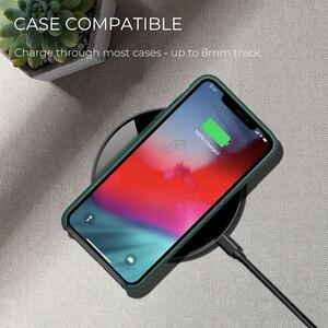 Image 5 - Chargeur sans fil iONCT 15W qi pour iPhone X XR XS Max 8 charge rapide sans fil pour Samsung Huawei téléphone Qi chargeur sans fil