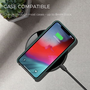 Image 5 - IONCT 15W qi מטען אלחוטי pad עבור iPhone X XR XS מקסימום 8 מהיר wirless טעינה עבור סמסונג Huawei טלפון צ י מטען אלחוטי