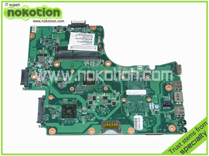 V000225130 PN 1310A2408915 Laptop motherboard for TOSHIBA  Satellite C655 C650D E450 CPU onboard Mainboard  wholesale v000225020 laptop motherboard for toshiba c650 c655 100