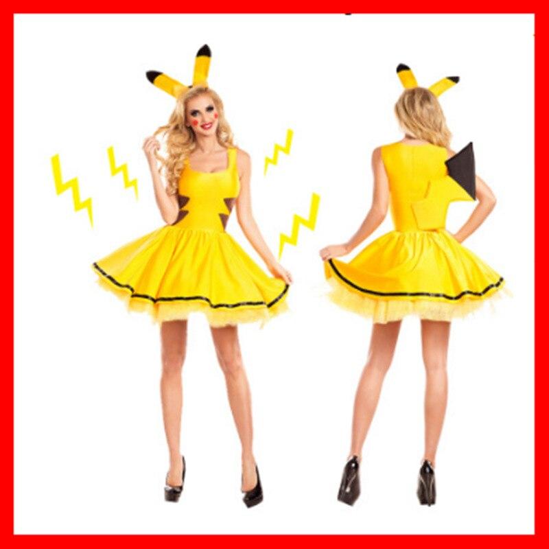 hot nude girls in pikachu costume