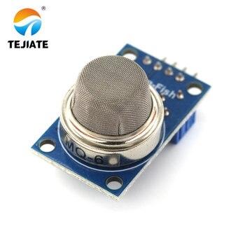 1PCS MQ-6 LPG Gas Sensor Module Liquefied Propane Iso-butane Butane Combustible Gas Detection Sensor tgs3870 figaro sensor gas sensor