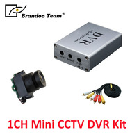 Mini hidden 1CH CCTV digital video recorder DVR kit,for home,factory,office use,free shipping.