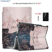 Laptop Case For Microsoft Surface pro 6 7 foldable Laptop Holder for Surface pro 5 pro 4 case for new surface pro +Films|Tablets & e-Books Case|   -