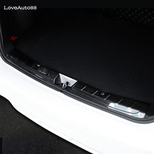High Quality Stainless Steel Inner Rearguards Rear bumper Trunk Trim Bumper Pedal For Subaru XV 2018 2019 Accessories недорого