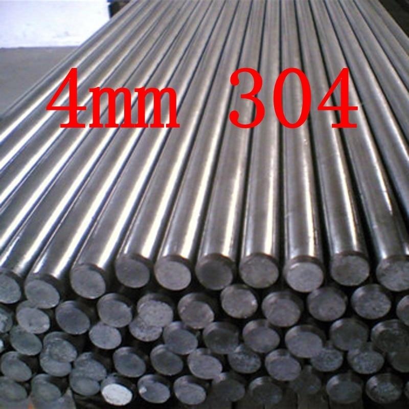 4mm 304 Stainless Steel Round Bar / Rod Grade 304 Stainless Steel Bar