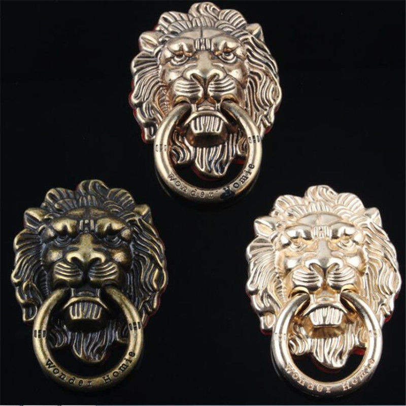 UVR 360 Degree Lion Metal Finger Ring Smartphone Stand Holder Mobile Phone Holder Stand For iPhone iPad Xiaomi All Phone