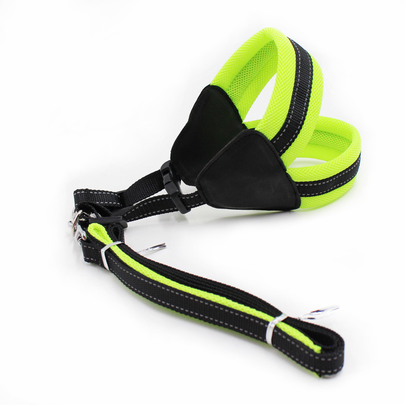 Colliers pour chiens laisse grand harnais gilet chiot fournitures accessoires pour animaux de compagnie produit animaux collier hondentuigjes en harnais chien