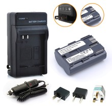 Hot sell 1pcs BP-511 BP511A Battery +Charger+Car charger+Plug adapter for Canon EOS 40D 300D 5D 20D 30D 50D 2500mAh