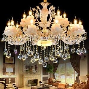 현대 샹들리에 천장 거실 샹들리에 침실 주방 크리스탈 샹들리에 전통적인 대형 긴 샹들리에 조명