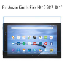 "Tablet PC Beschermende Film Voor Amazon Kindle Fire HD 10 2017 10.1 ""LCD Screen Protector Ultra Slim HD Film 2 PCS(China)"